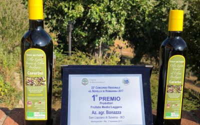 L'olio dell'azienda agricola Bonazza