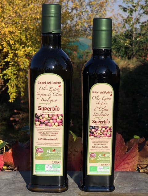 olio extravergine biologico - Azienda biologica Bologna